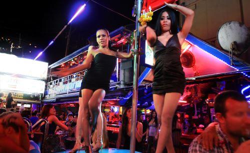 Ladyboy bar Bangkok