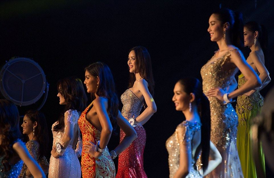 Ladyboys at Miss Tiffany Universe