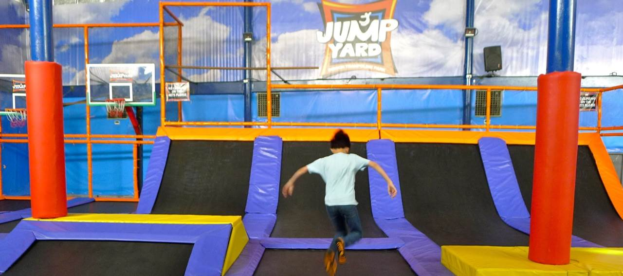 A jumpy date at the JumpYard